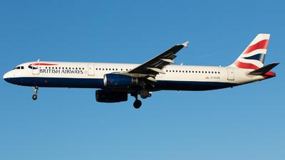 G-EUXD - Airbus A321-231 - British Airways