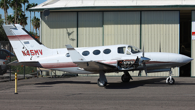 N45MV - Cessna 421C Golden Eagle - Private