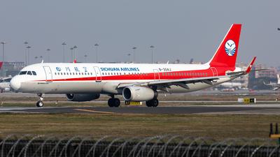 B-304J - Airbus A321-231 - Sichuan Airlines