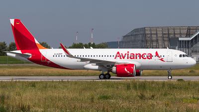 D-AUBW - Airbus A320-251N - Avianca