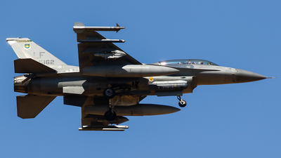 88-0162 - Lockheed Martin F-16D Fighting Falcon - United States - US Air Force (USAF)