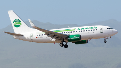 D-AGEL - Boeing 737-75B - Germania