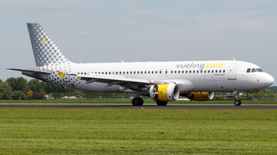 EC-JTQ - Airbus A320-214 - Vueling Airlines