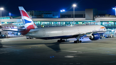 G-STBH - Boeing 777-336ER - British Airways