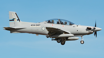 A54-047 - Pilatus PC-21 - Australia - Royal Australian Air Force (RAAF)