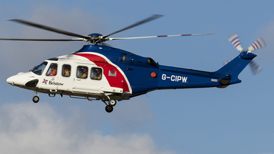 A picture of GCIPW - AgustaWestland AW139 - Bristow Helicopters - © Matt Varley