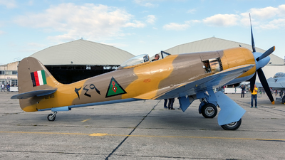 OO-ISS - Hawker Sea Fury FB.10 - Private
