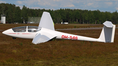 OH-546 - Schleicher ASK-21 - TIY - Aviation Club of Tampere