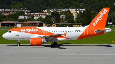 G-EZAB - Airbus A319-111 - easyJet