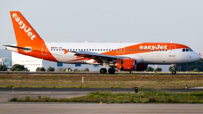 HB-JYA - Airbus A320-214 - easyJet Switzerland