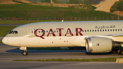 A7-BCF - Boeing 787-8 Dreamliner - Qatar Airways