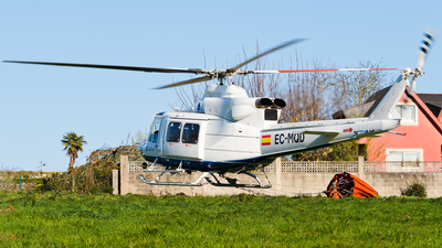 A picture of ECMQD - Bell 412HP - Babcock MCS Espana - © jose luis maquieira