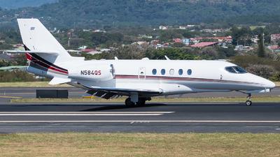 N584QS - Cessna Citation Latitude - NetJets Aviation