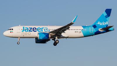 9K-CBB - Airbus A320-251N - Jazeera Airways