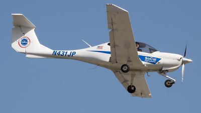 N431JP - Diamond DA-40 Diamond Star - SoCal Flight Academy