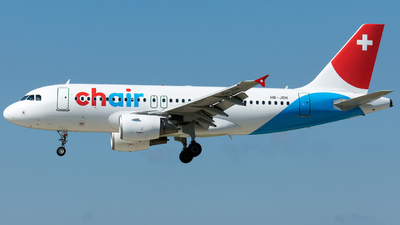 HB-JOH - Airbus A319-112 - Chair Airlines