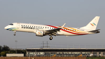 A picture of B3241 - Embraer E190LR - Colorful GuiZhou Airlines - © Nanjo_Rippile