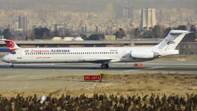 EP-ZAQ - McDonnell Douglas MD-83 - Zagros Airlines