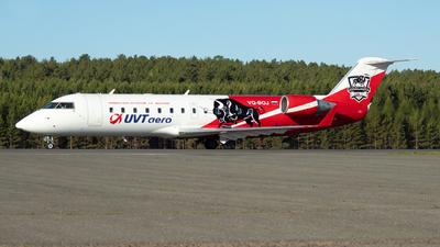 VQ-BOJ - Bombardier CRJ-200ER - UVT Aero