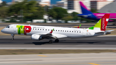 A picture of CSTPU - Embraer E190LR - TAP Express - © Matheus Felipe