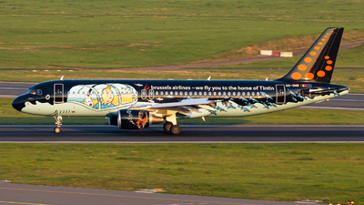 A picture of OOSNB - Airbus A320214 - Brussels Airlines - © Jeremy De Winter
