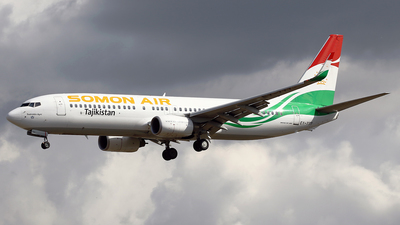 A picture of EY777 - Boeing 7378GJ - Somon Air - © Jeroen Stroes