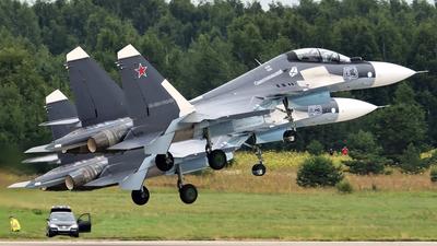 43 - Sukhoi Su-30SM - Russia - Navy