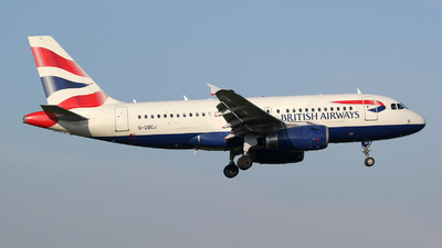 G-DBCJ - Airbus A319-131 - British Airways