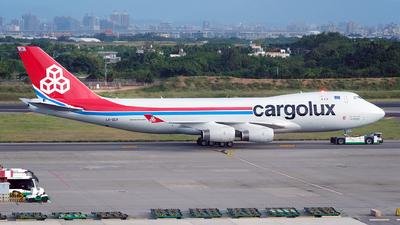 LX-SCV - Boeing 747-4R7F(SCD) - Cargolux Airlines International