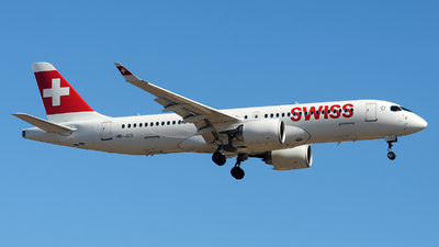 A picture of HBJCS - Airbus A220300 - Swiss - © Alexander Portas