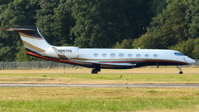N667HS - Gulfstream G650ER - Private