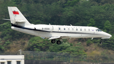 B-9300 - Cessna 680 Citation Sovereign - Civil Aviation Administration of China (CAAC)