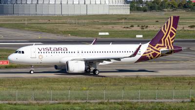 VT-TQG - Airbus A320-251N - Vistara