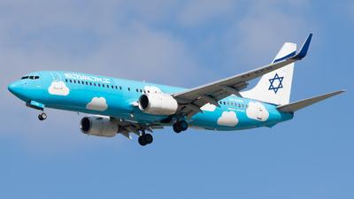 4X-EKM - Boeing 737-804 - El Al Israel Airlines