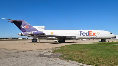 N258FE - Boeing 727-233(Adv)(F) - FedEx