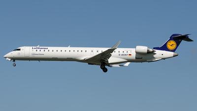 D-ACKF - Bombardier CRJ-900ER - Lufthansa CityLine
