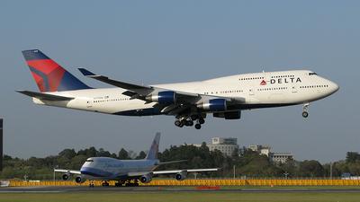 N675NW - Boeing 747-451 - Delta Air Lines