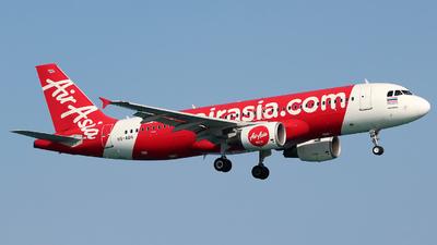 A picture of HSABN - Airbus A320216 - AirAsia - © Damian Ciesielski
