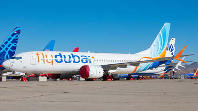 A picture of A6FMM - Boeing 737 MAX 8 - FlyDubai - © Tyler Lorenz
