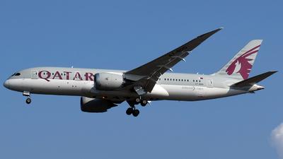 A picture of A7BDD - Boeing 7878 Dreamliner - Qatar Airways - © Abizar Burniat