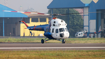 P-5003 - PZL-Swidnik Mi-2 Plus - Indonesia - Police
