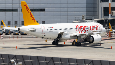 A picture of TCNBM - Airbus A320251N - Pegasus Airlines - © Shon Fridman