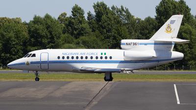NAF961 - Dassault Falcon 900 - Nigeria - Air Force