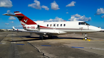 VP-CGG - Hawker Beechcraft 800XP - Private