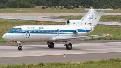 87229 - Yakovlev Yak-40K - Sukhoi Design Bureau