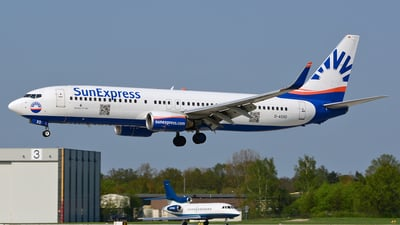 D-ASXD - Boeing 737-8AS - SunExpress Germany