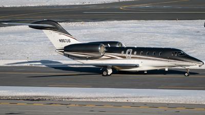 N957JS - Cessna 750 Citation X - Private