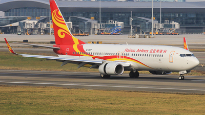 B-1347 - Boeing 737-84P - Hainan Airlines