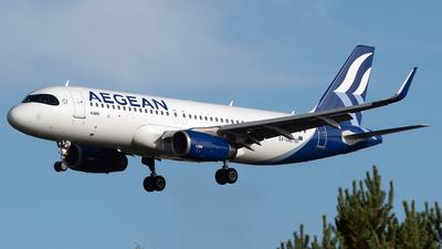 SX-DNC - Airbus A320-232 - Aegean Airlines