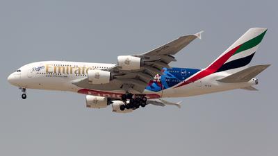 A6-EON - Airbus A380-861 - Emirates